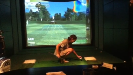 Simulation golf Restaurant bar Bar.D