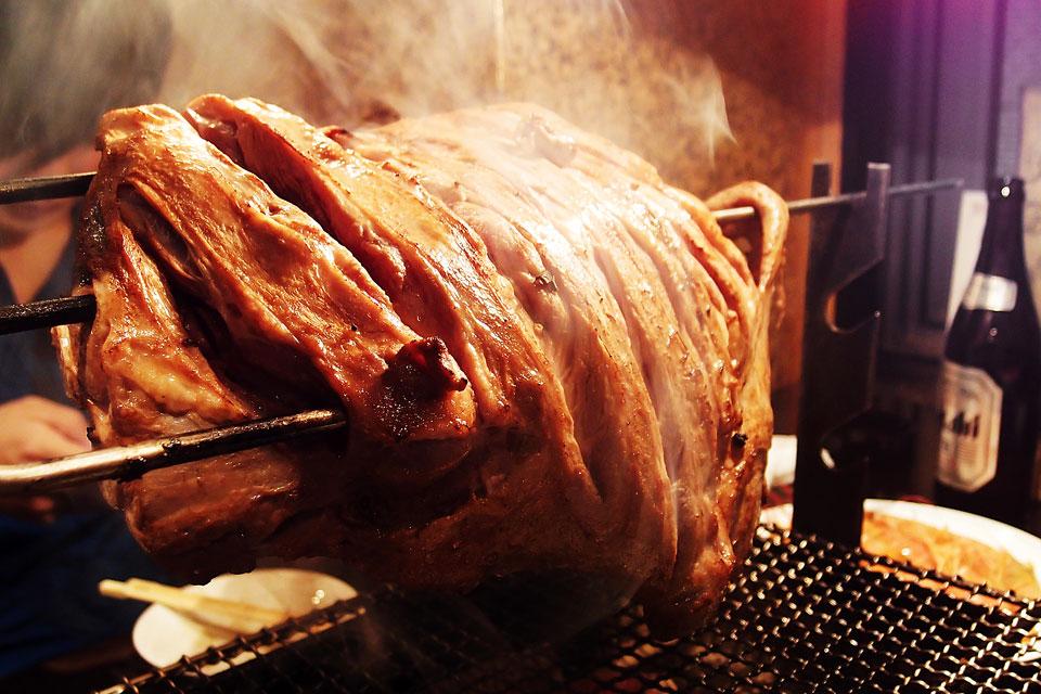 烤羊排 - 聚福楼